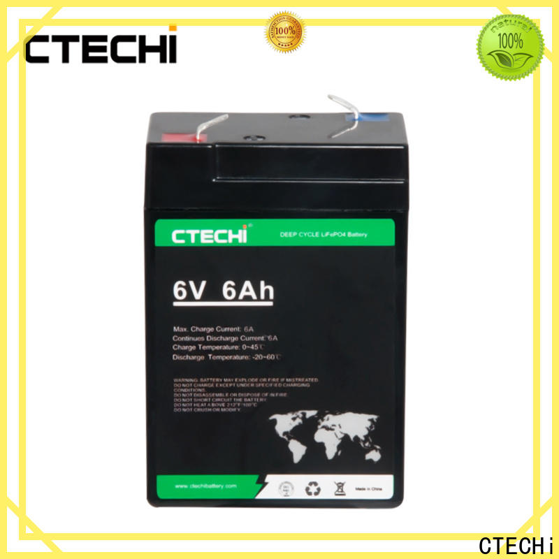 CTECHi high quality lifepo4 pack factory for Cleaning Machine