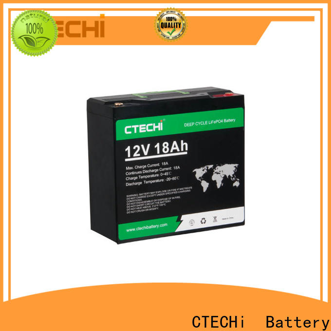 CTECHi lifepo4 battery case supplier for Golf Trolley