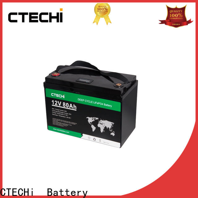 stable lifep04 battery pack manufacturer for E-Sweeper