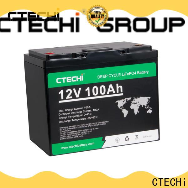 CTECHi lifepo4 battery kit manufacturer for RV
