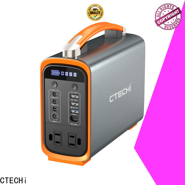 certificated lithium ion power station manufacturer for outdoor