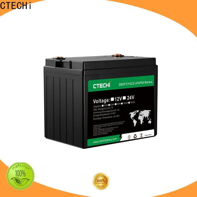 CTECHi lifepo4 battery case supplier for RV