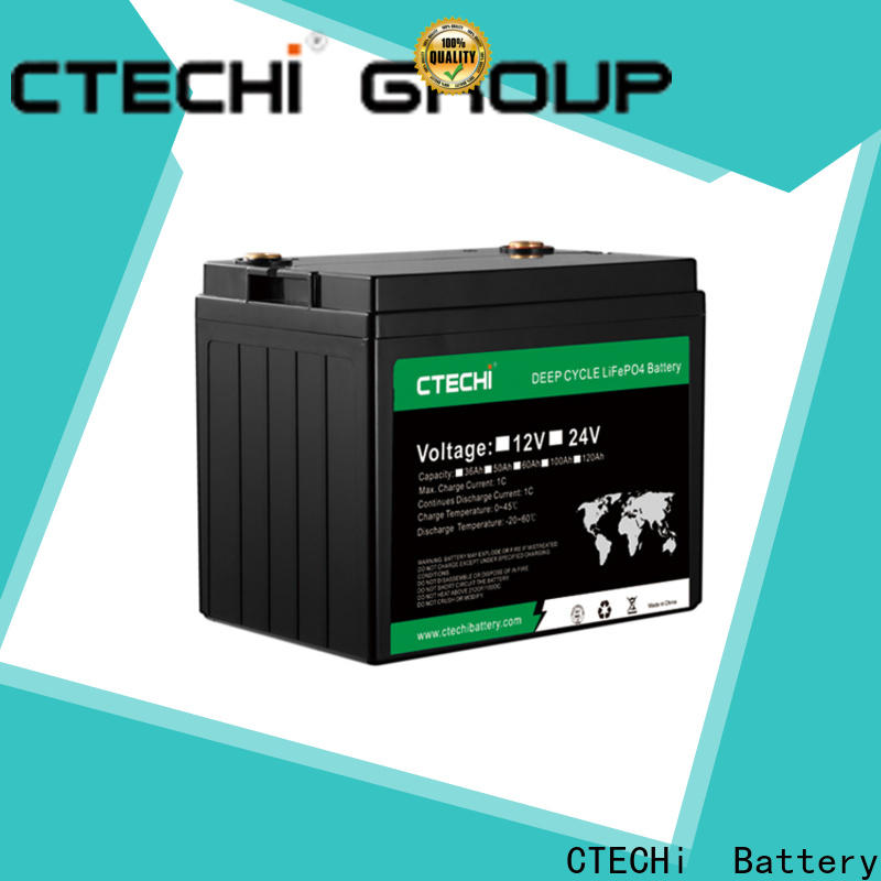 CTECHi lifepo4 battery kit factory for Cleaning Machine