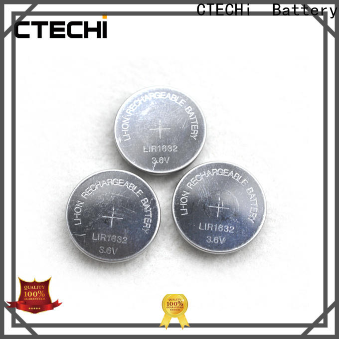 CTECHi small rechargeable button cell batteries factory for watch