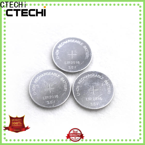 CTECHi digital rechargeable button cell batteries factory for calculator