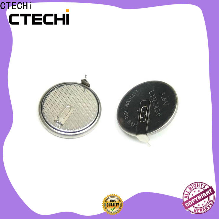 CTECHi charging rechargeable coin cell manufacturer for car key