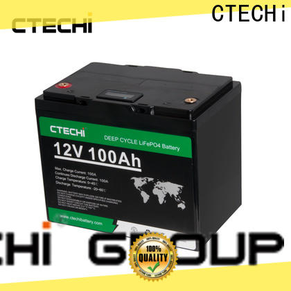CTECHi lifepo4 power pack manufacturer for Boats
