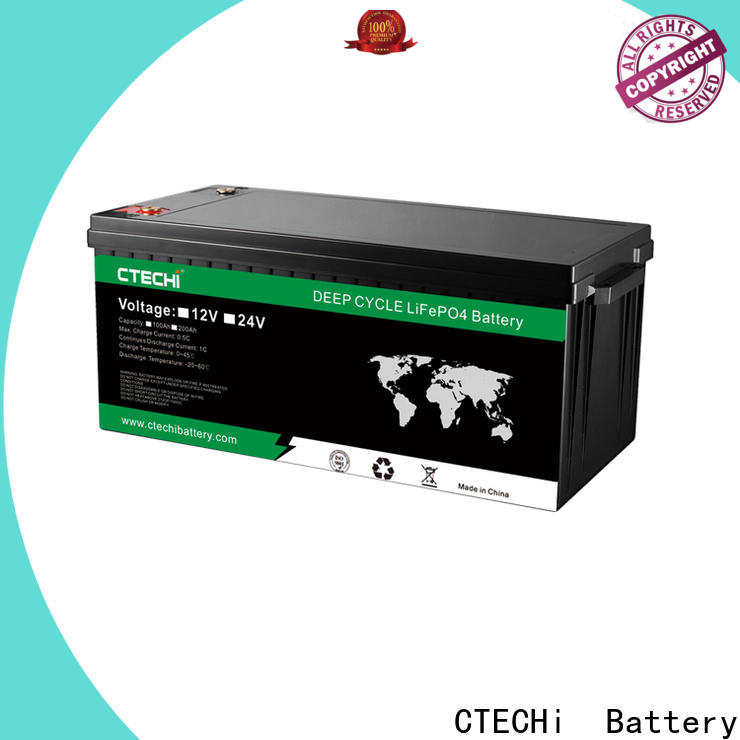 CTECHi lifep04 battery pack customized for Golf Carts