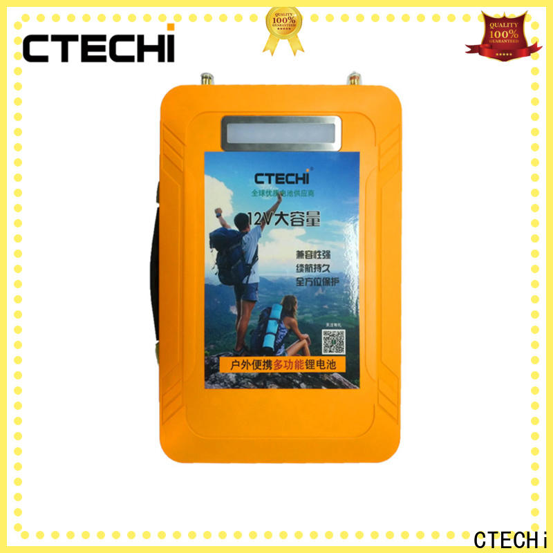 CTECHi portable lifepo4 battery uk personalized for golf car