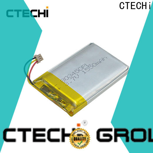 quality lithium polymer battery customized for electronics device