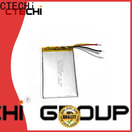 CTECHi lithium polymer battery 12v supplier for electronics device