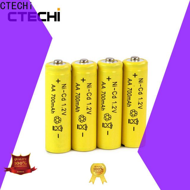 CTECHi wide temperature range saft ni cd battery factory for emergency lighting