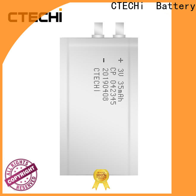 CTECHi micro-thin battery series for manufacture