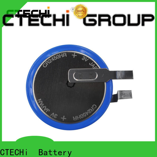 CTECHi long duration maxell lithium battery customized for GPS System