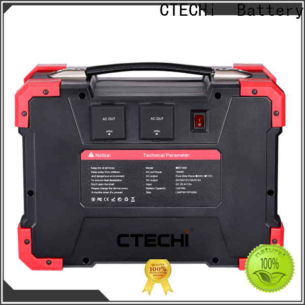 professional lithium portable power station factory for back up