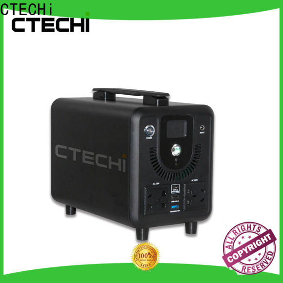 CTECHi professional camping power station customized for back up