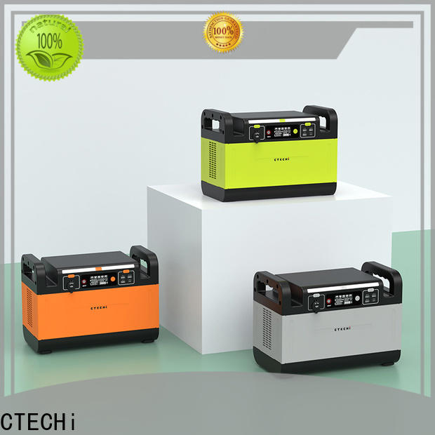 CTECHi lithium portable power station personalized for outdoor