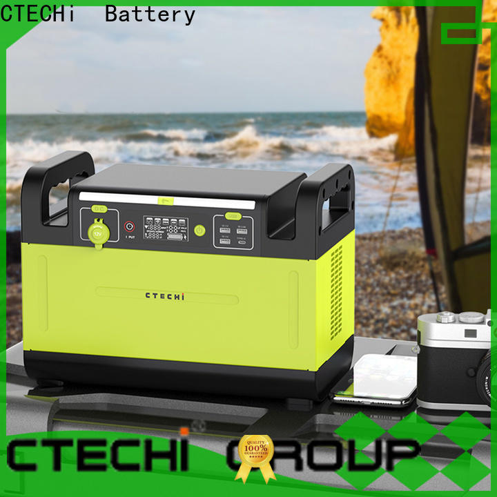 quality lithium ion power station manufacturer for outdoor
