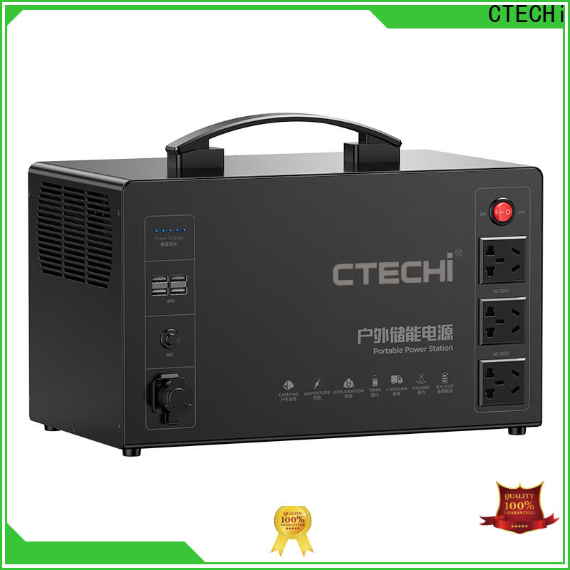 CTECHi portable power station customized for commercial