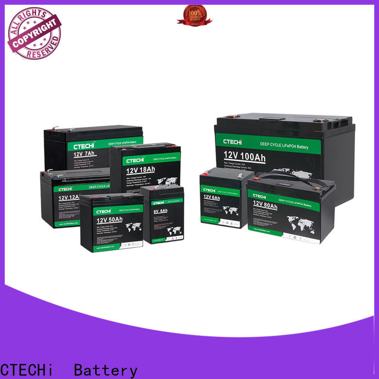 CTECHi professional lifepo4 battery case factory for E-Forklift