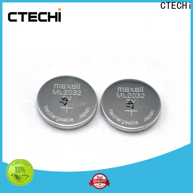 CTECHi small rechargeable button batteries wholesale for calculator