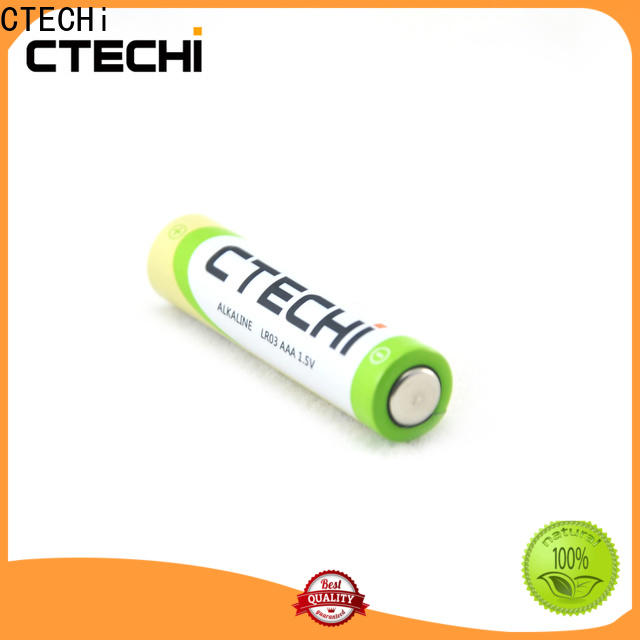 CTECHi high capacity recharge alkaline batteries wholesale for electronic products