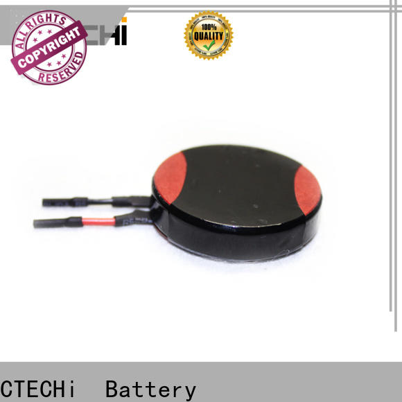 CTECHi high capacity lithium battery manufacturer for electronic products