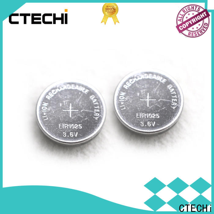 CTECHi small rechargeable button cell batteries factory for calculator