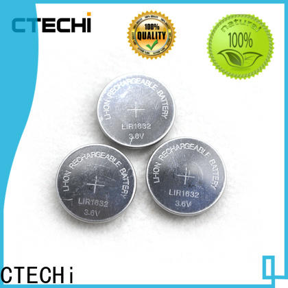 CTECHi digital rechargeable coin cell wholesale for watch