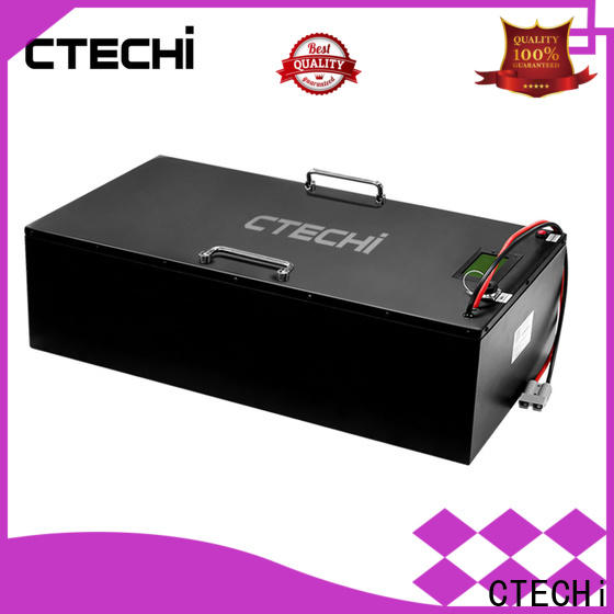 CTECHi electronic camping battery pack customized for golf cart