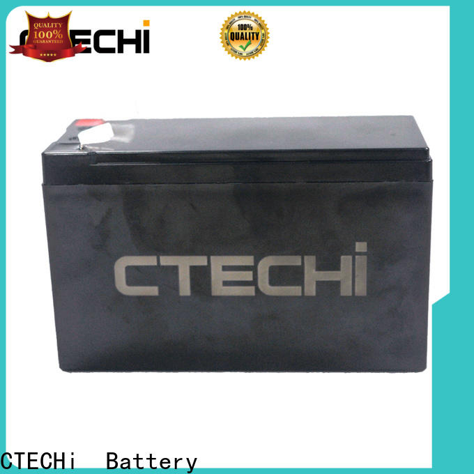 CTECHi lifepo4 battery kit factory for E-Sweeper