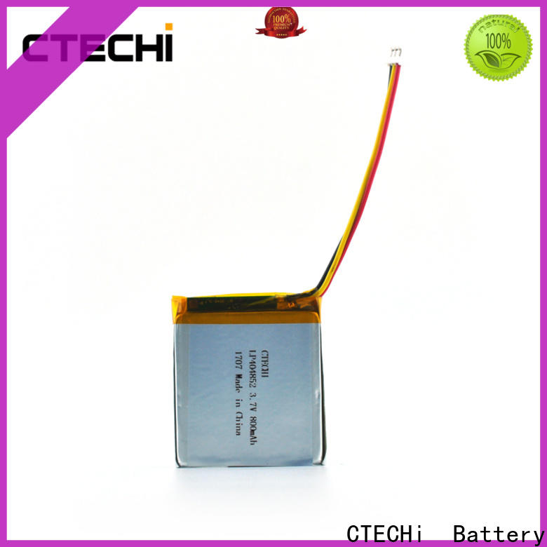 CTECHi lithium polymer battery supplier for electronics device