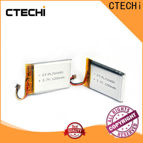 CTECHi conventional lithium polymer battery 12v supplier for smartphone