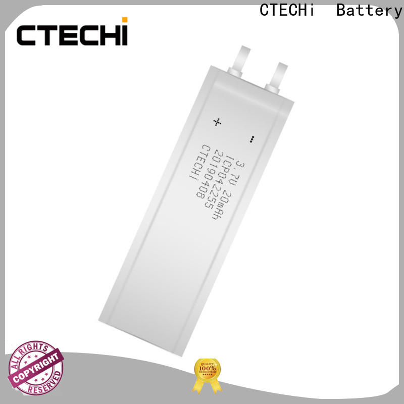 CTECHi hot selling ultra-thin battery manufacturer for factory