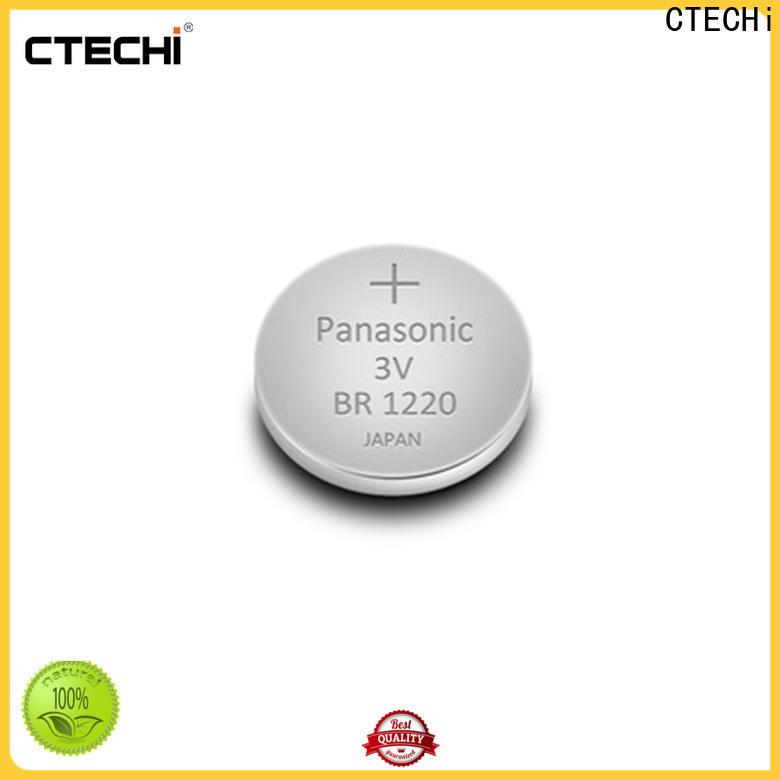 CTECHi durable panasonic lithium battery 18650 customized for flashlight