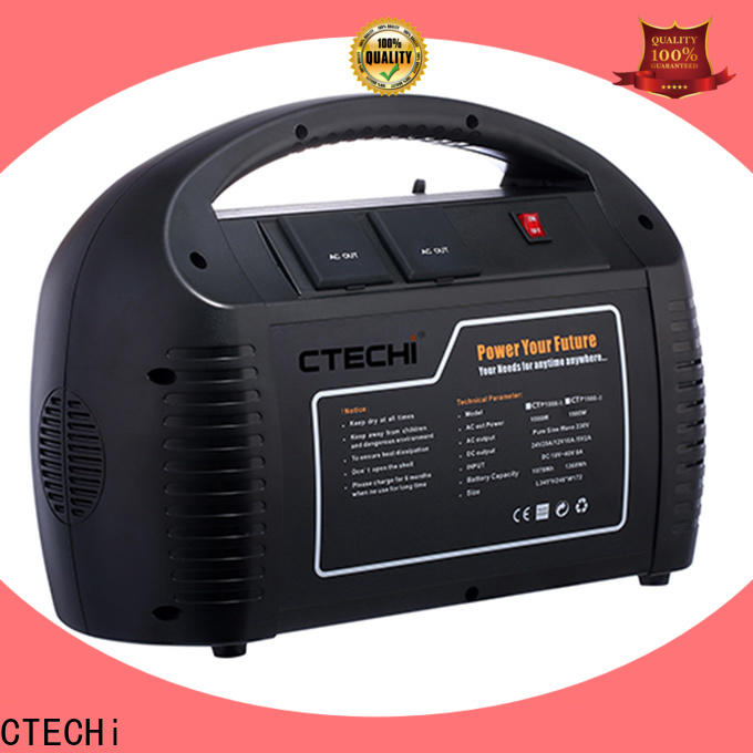 CTECHi lithium portable power station personalized for hospital