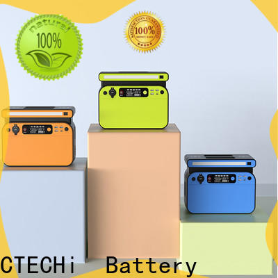 CTECHi certificated lithium ion power station factory for household