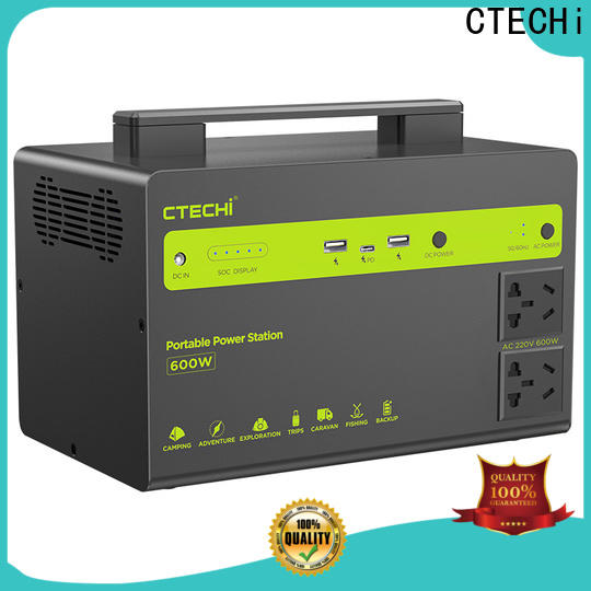 CTECHi lifepo4 power station manufacturer for back up