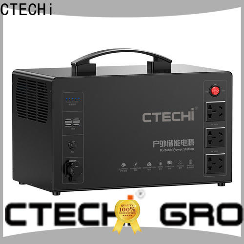 CTECHi stable lithium ion power station factory for outdoor