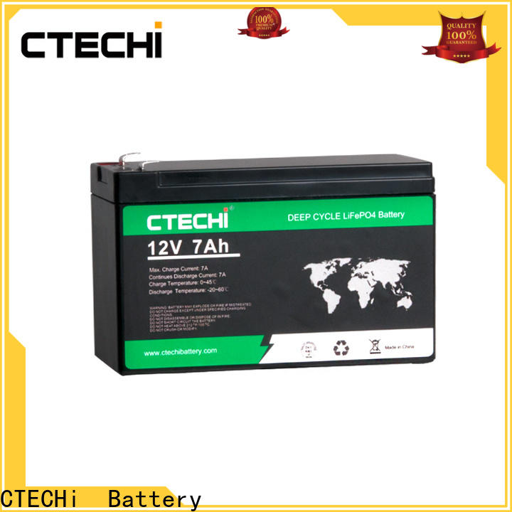 CTECHi high quality lifepo4 power pack manufacturer for E-Sweeper