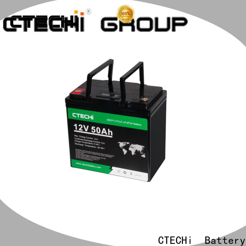 CTECHi lifepo4 battery case factory for Golf Carts