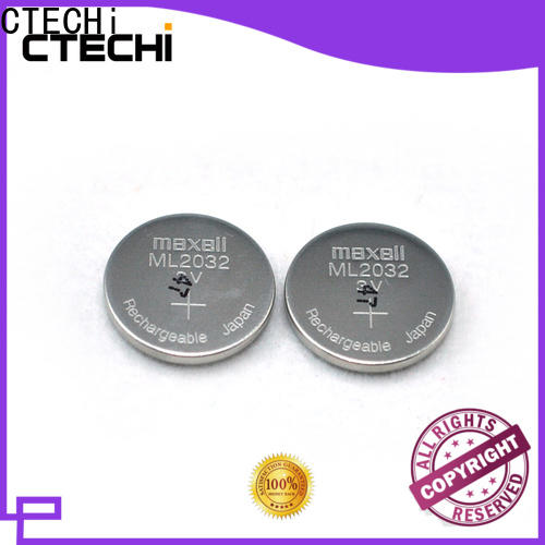 CTECHi rechargeable cell battery wholesale for car key