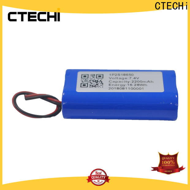 2200mah lithium ion rechargeable battery supplier for camera
