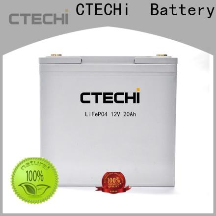 CTECHi durable LiFePO4 Battery Pack factory for E-Sweeper
