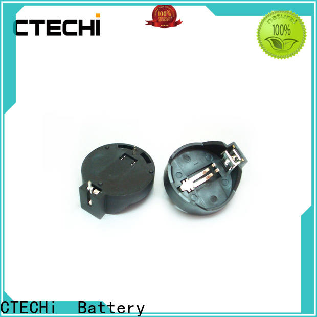 CTECHi button coin cell battery holder customized for sale