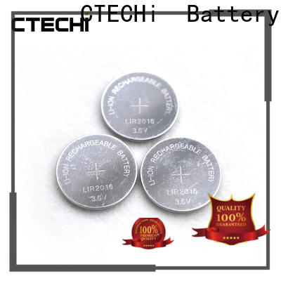 CTECHi rechargeable button batteries manufacturer for household