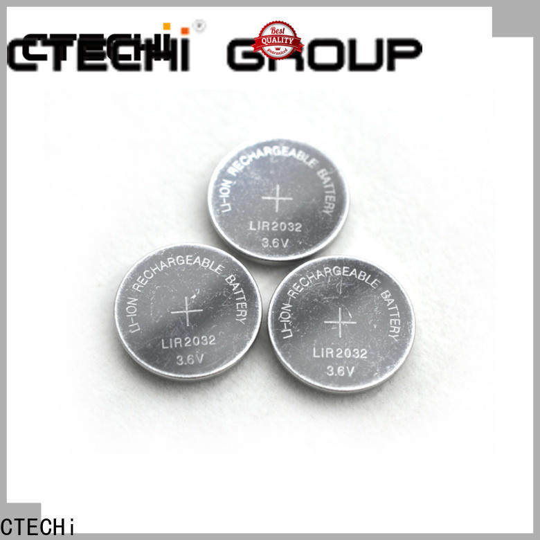 electronic rechargeable coin cell battery factory for car key