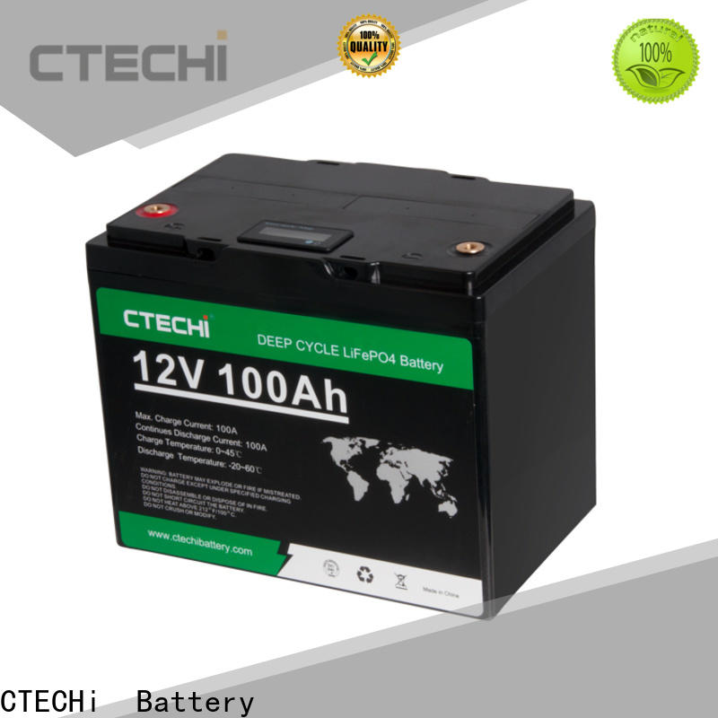 CTECHi stable LiFePO4 Battery Pack manufacturer for RV