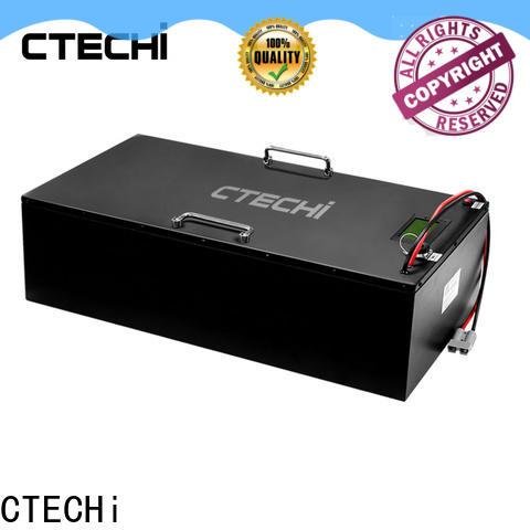 CTECHi 12v cell battery pack manufacturer for golf cart
