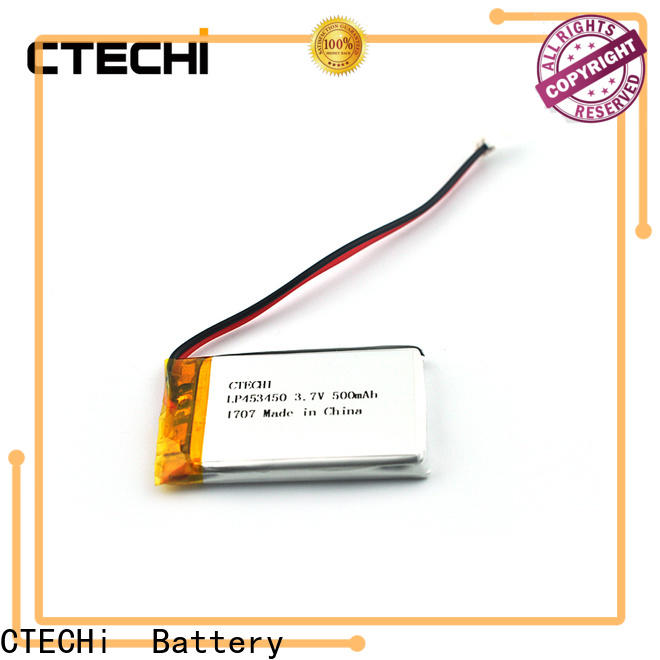 CTECHi smart polymer battery supplier for electronics device